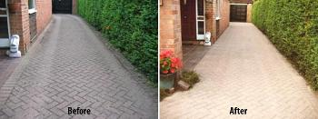 Block paving cleaning Eltham London