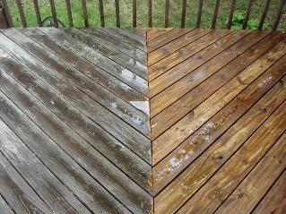 wood decking cleaners Eltham London
